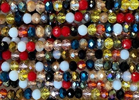 Multi Color Waistbeads