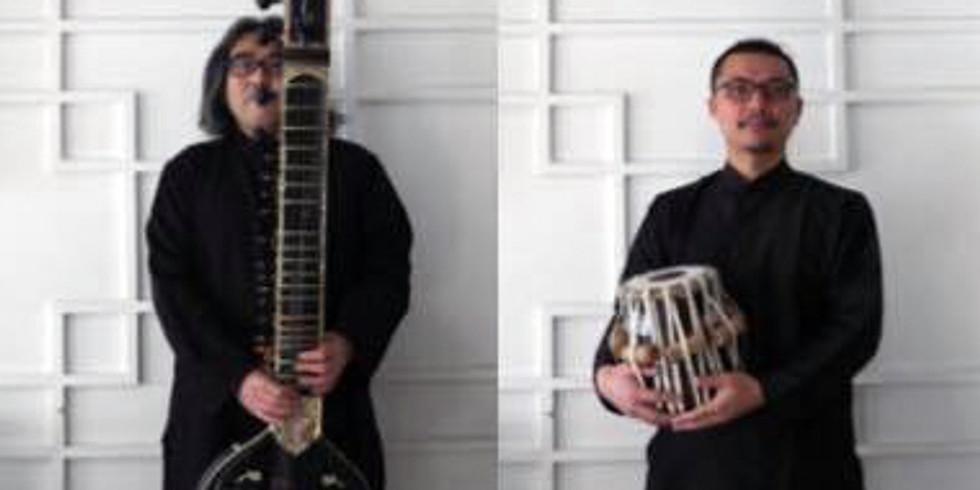 インド音楽を聴いて、もっと楽しむためのレクチャー&ライブ