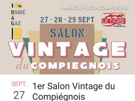 A Margny-les-Compiègne, un salon dédié aux amateurs du vintage - Le Parisien