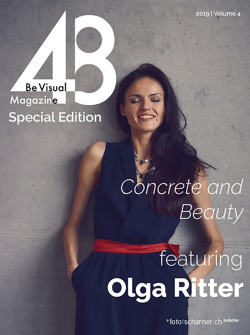 Vol 6 | Concrete and Beauty, feat. Olga Ritter | 32 Pages (Print)
