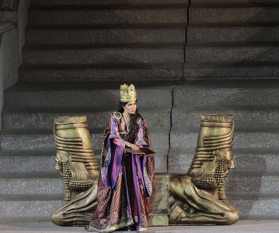 Nabucco, Arena di Verona 2015