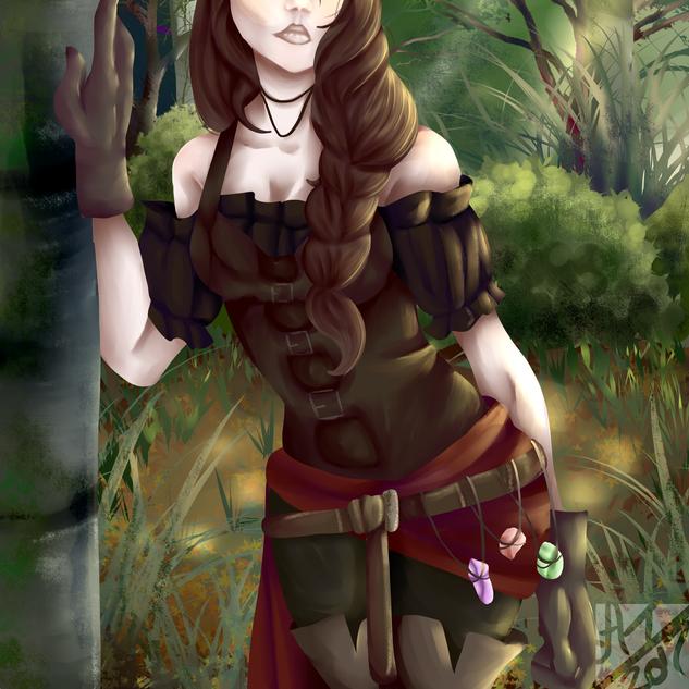 Radha of the ruins