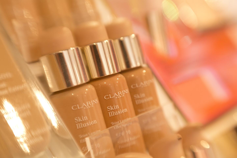 Clarins Makeup-Tester