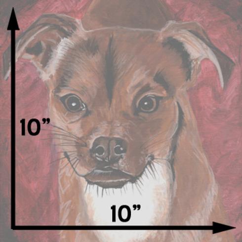 """10""""x10"""" Portrait"""