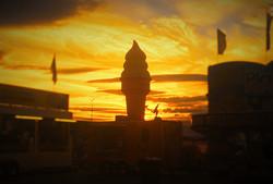 Sunset on Cruising  Cones