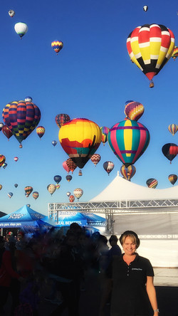 Welcome to the Balloon Fiesta!