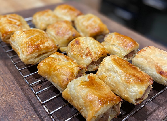 Boiler Room Sausage Roll