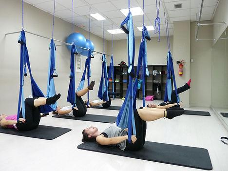 Clases de Pilates Aeréo
