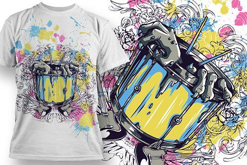 T-shirt Music 12