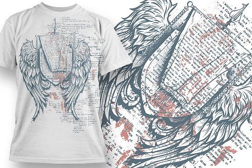 T-shirt Angel & Devil 12