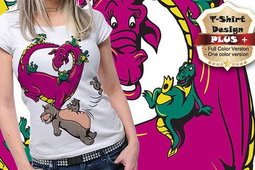 T-shirt Animali e Creature 94