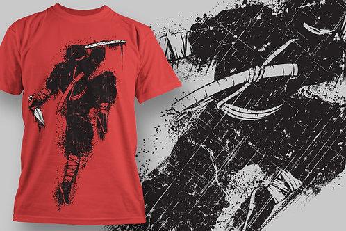 T-shirt Ninja 10