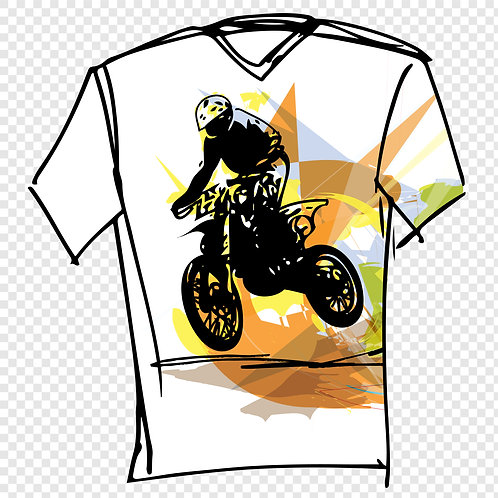 T-shirt Motor 96