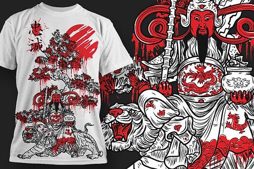 T-shirt Ninja 17