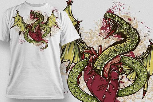 T-shirt Animali e Creature 124