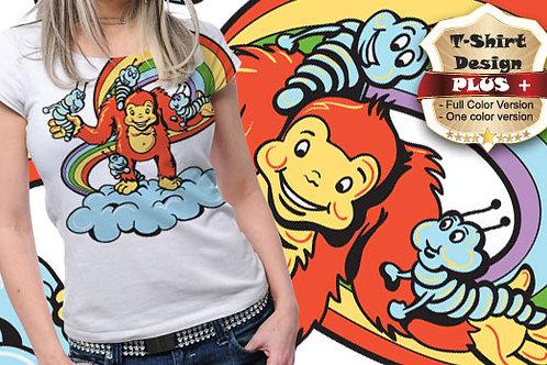 T-shirt Animali e Creature 92