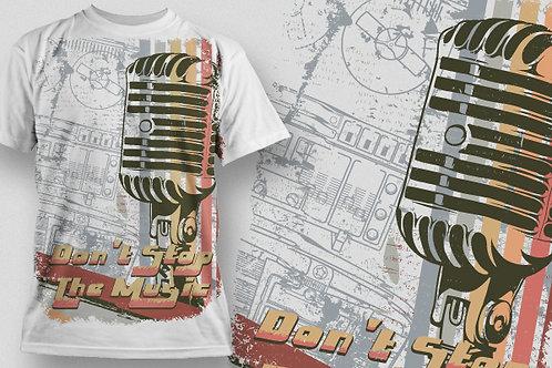 T-shirt Music 17