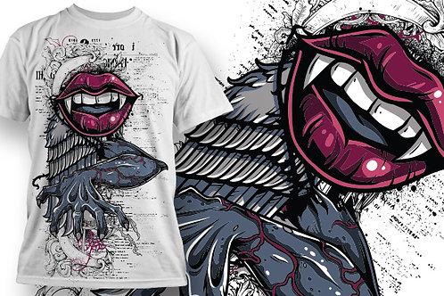 T-shirt Angel & Devil 18