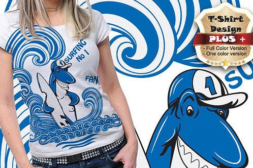 T-shirt Animali e Creature 75