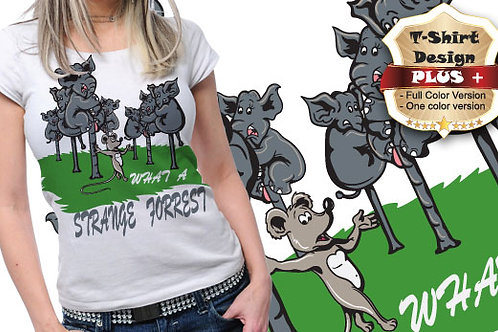 T-shirt Animali e Creature 80
