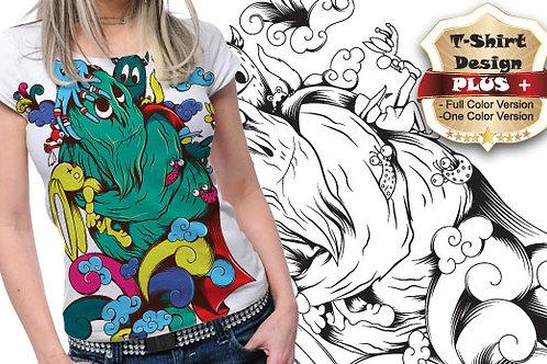 T-shirt Animali e Creature 97
