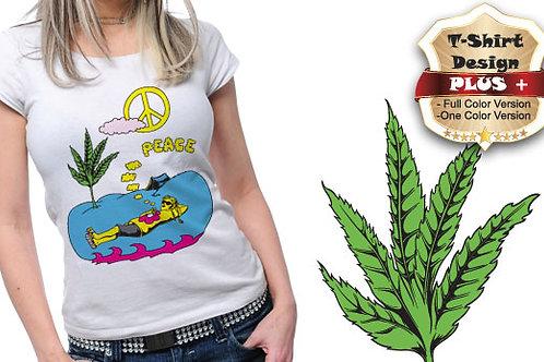T-shirt Hippie 04