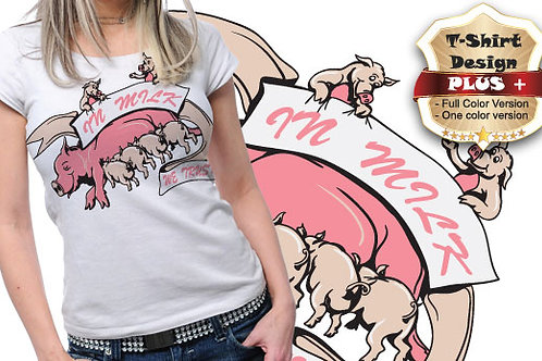 T-shirt Animali e Creature 81