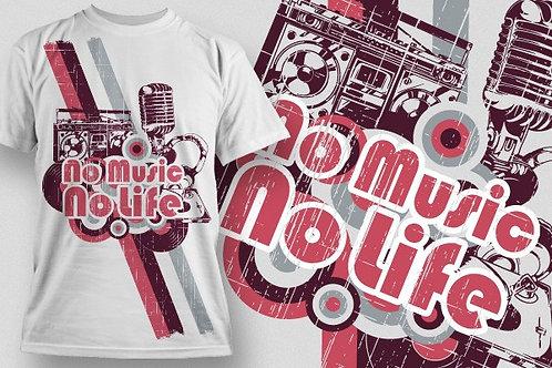 T-shirt Music 15