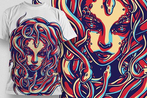 T-shirt Angel & Devil 23