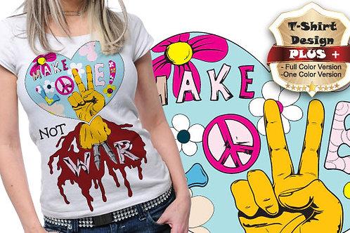 T-shirt Hippie 05