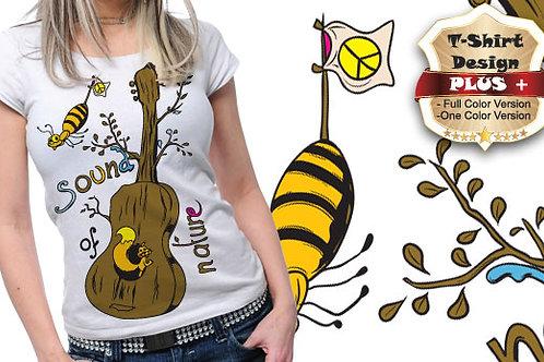 T-shirt Music 11