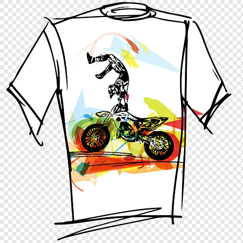 T-shirt Motor 97