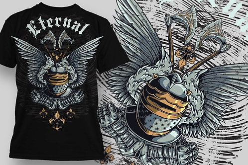 T-shirt Angel & Devil 25