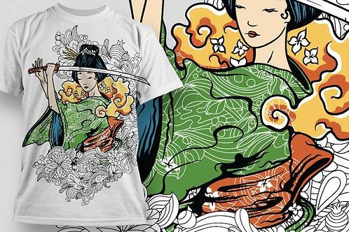 T-shirt Ninja 14