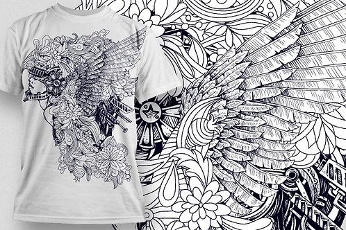 T-shirt Angel & Devil 33