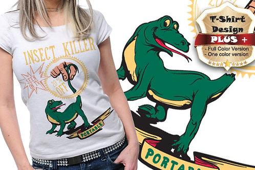 T-shirt Animali e Creature 68