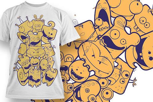 T-shirt Animali e Creature 64