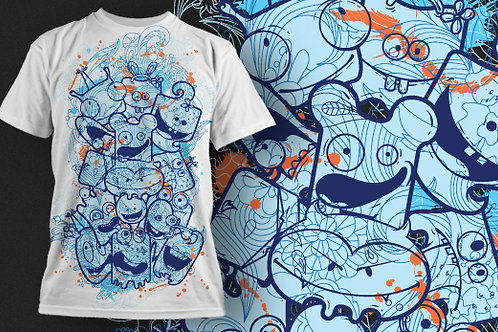 T-shirt Animali e Creature 125