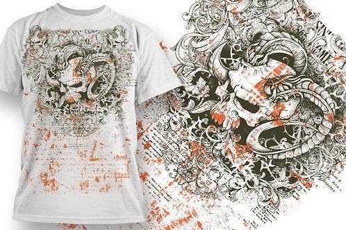 T-shirt Angel & Devil 11