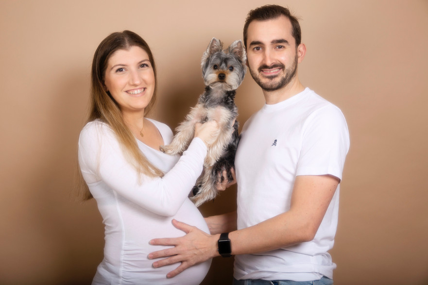 Sesión de embarazo - Mayte + Andrés