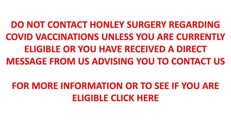 Covid Vaccination Notice