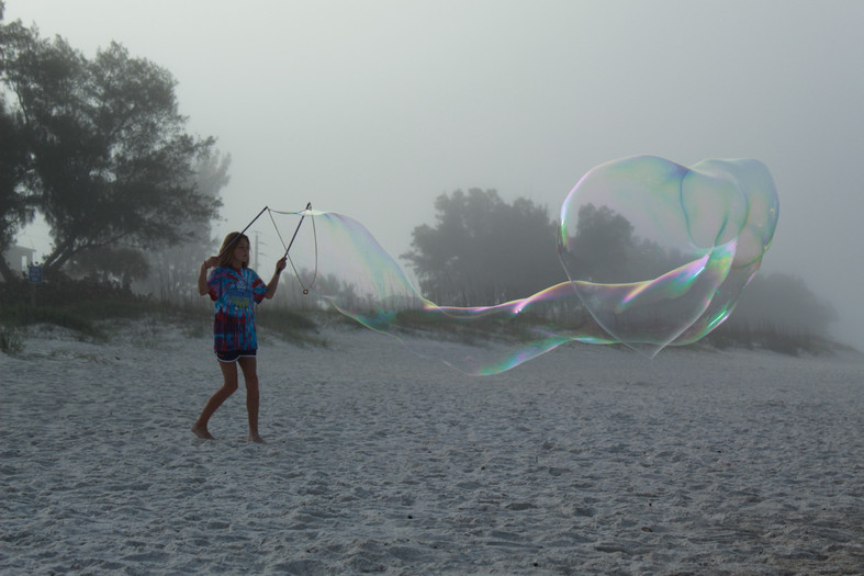 Long Morphing Bubble