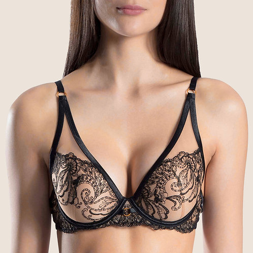 "Soutien-gorge Triangle Push-Up ""Baisers Charnels"" Aubade"