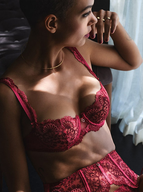 Soutien-gorge corbeille ART OF INK Aubade