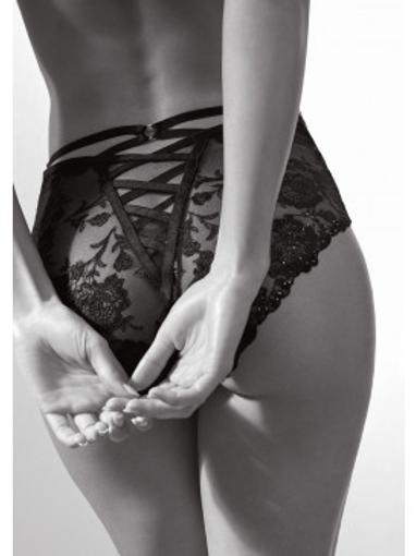 "Culotte Haute ""Nuit Indécente"" gamme luxe Aubade"