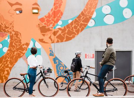Murals By Bike: The Bricktown OKCtopus