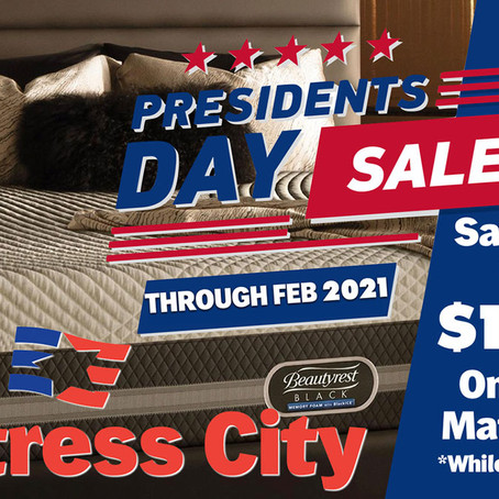 Don't miss our President's Day Sale!