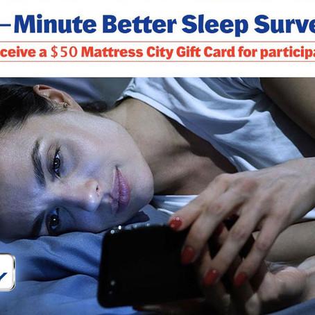 Studies Show That Deep Sleep is Important - Take Our Mattress City Sleep Study Now!