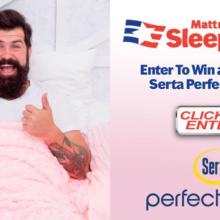 Enter to Win Our Spring Serta Sleepstakes*