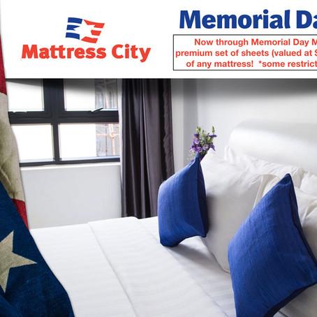 Memorial Day Sale at Mattress City